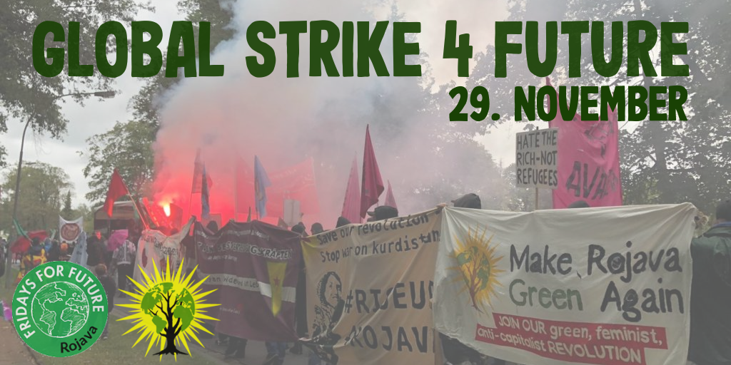 Call for the Global Strike 4 Future on 29/11